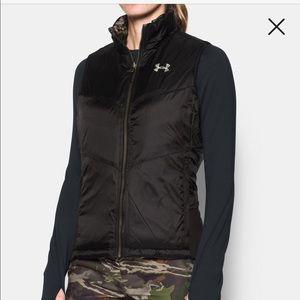 UA Extreme Camo/brown reversible vest XL